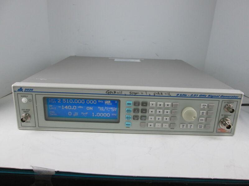 AEROFLEX IFR 2025 9 KHz -2.51 GHZ SIGNAL GENERATOR