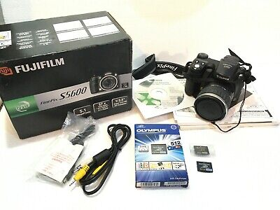 FUJIFILM FINEPIX S5600 Digital Photo Camera Camara Fotografica xD Memory Card