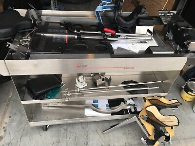 Steris Amsco Accessory Cart For Orthopedic Table With Accessories