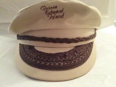 1950s Mens Hats | 50s Vintage Men's Hats Vintage Prince Edward Island Sam Jung Captain Style Hat 1950's-1960's $69.99 AT vintagedancer.com