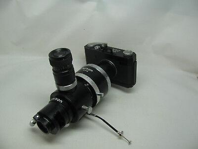 Nikon M35-s Microscope Camera W Pfm Manual Adapter