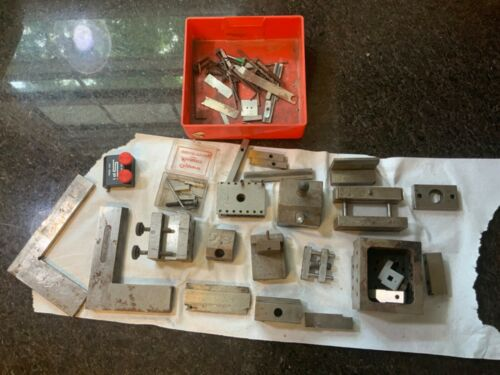 MACHINIST PRECISION BLOCK LOT FROM LOCAL ESTATE CLEANOUT