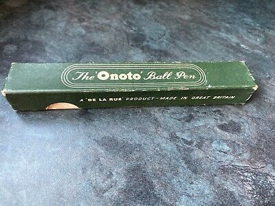 The 'Onoto' Ball pen - Oirginal packaging - BOX ONLY