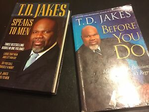 """T.D. Jakes """"Speaks To Men"""" & """"Before You Do"""""""