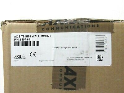 Axis 5507-641 T91h61 Wall Mount For Fixed Dome Cameras Cta