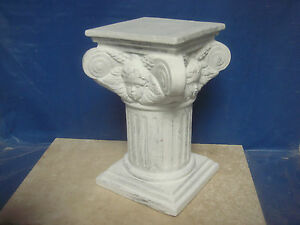LATEX RUBBER MOULD MOLD OF A  PILLAR / COLUMN ( WITH ANGEL) 8