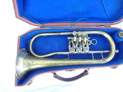 Alte Trompete Schopper Leipzig Hoflieferant