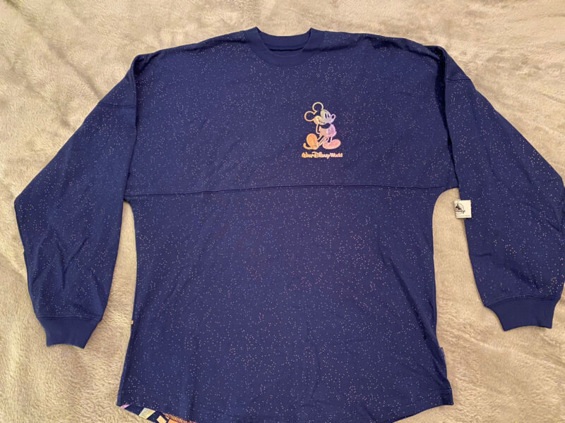 Walt Disney World 50th Anniversary Spirit Jersey Adult Extra Small XS NWT