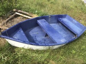 8foot fiberglass skiff for sale