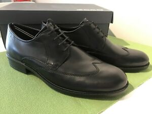 Brand new Authentic Men's Ecco Harold Black Dress Shoes size 45