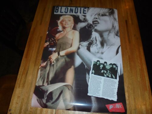 Blondie ( Punk ) Poster 24 X 36 Out of Print 2002  LAST ONE