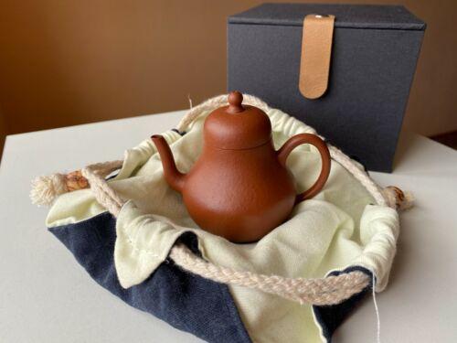 Chinese Yixing Zisha Clay Handmade Teapot 100cc Top Quality 段泥 Old Duan Ni