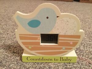 Countdown to Baby clock