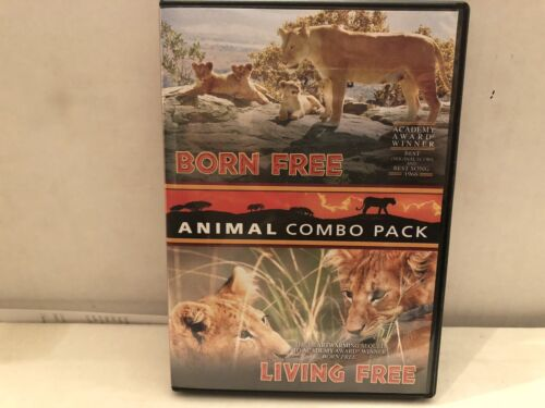 Born Free/Living Free Double Feature DVD - $2.00