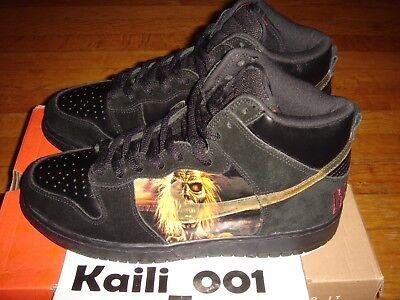 low cost d43c5 8b50d Nike Dunk High Pro SB Size 9 Iron Maiden Promo Sample Paris Pigeon London  Tokyo