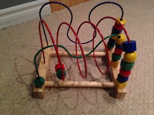 toy bead roller coaster