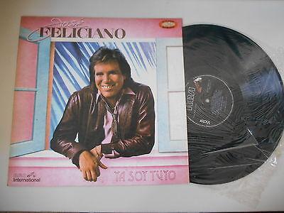 LP Ethno Jose Feliciano - Ya Soy Tuyo (10 Song) RCA INTERNATIONAL / PERU