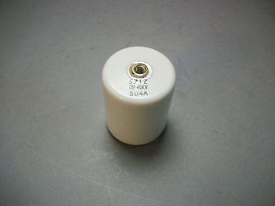 Lot Of 2 Murata 571z Doorknob Capacitor 40kv 504a Dhsf44g571zhxb 570 Pf