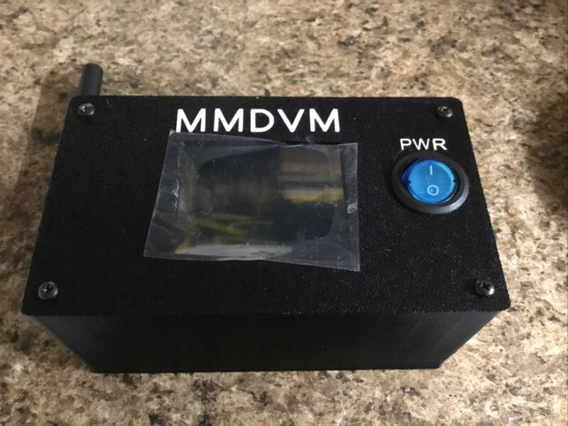 MMDVM Simplex Hotspot 2.4 Nextion Screen DMR YSF D* P25, 16gb Sd Card, Pwr Cord
