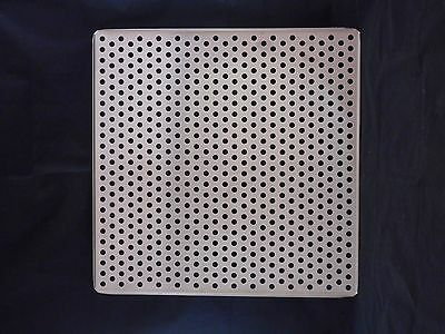 Laboratory Stainless Steel Perforated Incubator Shelf 18-12 X 18-12