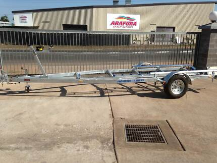 5.5 m Galvanized single axle boat trailer Winnellie Darwin City Preview
