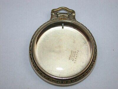 "Hamilton 16 Size ""BOC"" Railroad Pocket Watch Case. 79T"