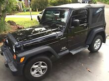 Jeep Wrangler sport 91,000 kms Mountain Creek Maroochydore Area Preview