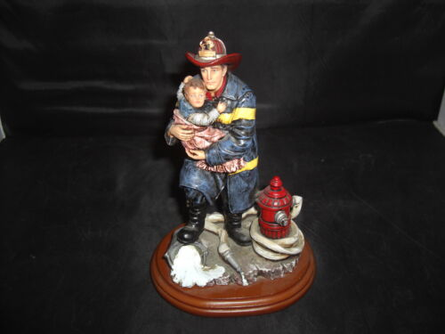 NEW Red Hats of Courage Fire Hydrant//Hose//Hat//Axe Beyond the Call Collectible