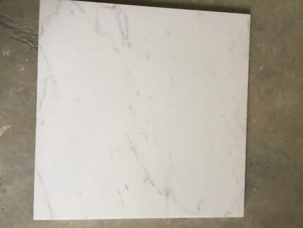 40x40 White Marble look Tiles Dynnyrne Hobart City Preview