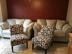 Love Seats and Accent Chairs