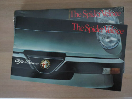 Alfa Romeo Spider Veloce 1983 New Old Stock Bulk 25 count