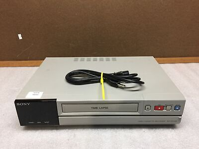 Sony Svt-ra168 232 Hour Time Lapse Vhs Recorder No Remote Tested And Working