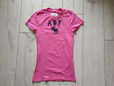 ABERCROMBIE & FITCH WOMEN'S CREW NECK T SHIRT  (SMALL)