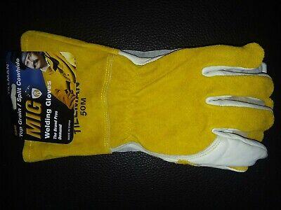 Tillman 50 Top Grainsplit Cowhide Mig Gloves - M
