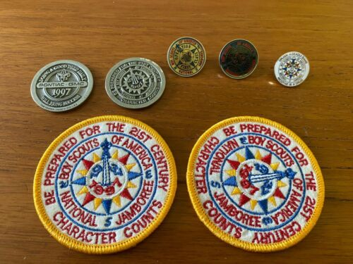 BOY SCOUTS OF AMERICA / ITEMS FROM THE 1996 NATIONAL JAMBOREE / BSA / PONTIAC