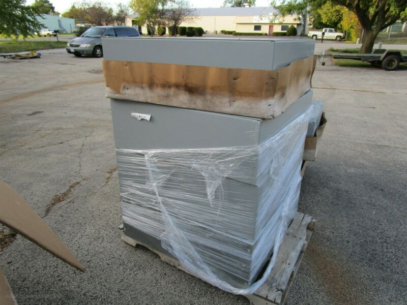 """Screw Pull Box Electrical Enclosure 36""""x36""""x12 14ga Painted Galvanized Steel New"""