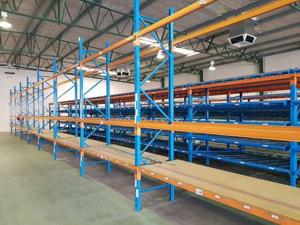 Dexion Shelving, Racking and Roller System