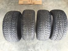 Brand new tyres x 4. 195/50 15. Duffy Weston Creek Preview