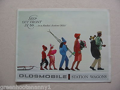 1966 Oldsmobile Station Wagon Brochure