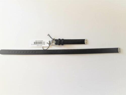 Pandora ICON Uhrenarmband, Strap, 2x Länge, kroko/schwarz - 881070DBK Neu
