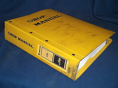 Komatsu Dresser 570 Wheel Loader Service Shop Workshop Repair Book Manual