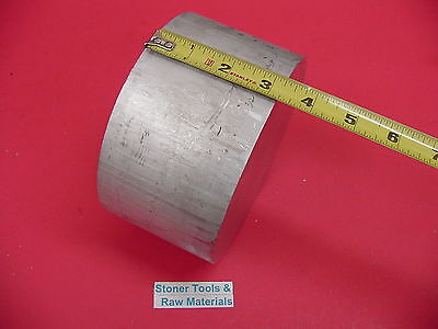 6 Aluminum 6061 Round Rod 3.2 Long T6511 Solid Lathe Bar Stock 6.00 Diameter