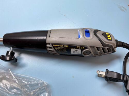 CAT Power Tool X120 Handheld Homogenizer Drive 35K RPM w/ Accessories
