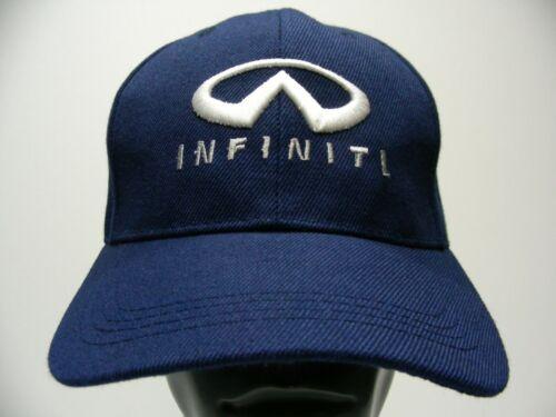 INFINITI - Blue - Polyester - ADJUSTABLE BALL CAP HAT!