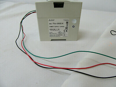 Mitsubishi Fx3u-20ssc-h Power Supply 24 Vdc Removed From Working Environment