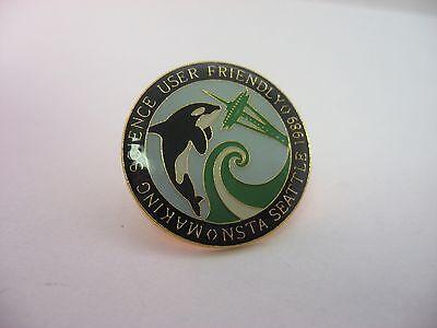 Vintage 1989 NSTA Seattle National Science Teachers Association Pin