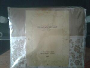 Brand New Highgate Manor Capri 400 Thread Count Sheets  (Taupe) (Full)
