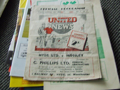 HYDE UNITED V MOSSLEY 1948-9