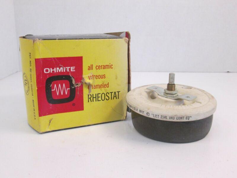Ohmite Rheostat No. 0541, 500 OHM, .55A Max, NIB