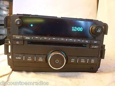 06 07 Buick Lucerne Factory Radio CD Player Aux Input 4 Ipod 15871700 F3R Ipod Factory Radio